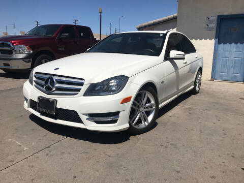 2012 Mercedes-Benz C-Class for sale at Town and Country Motors in Mesa AZ