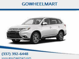 2018 Mitsubishi Outlander for sale at GOWHEELMART in Leesville LA
