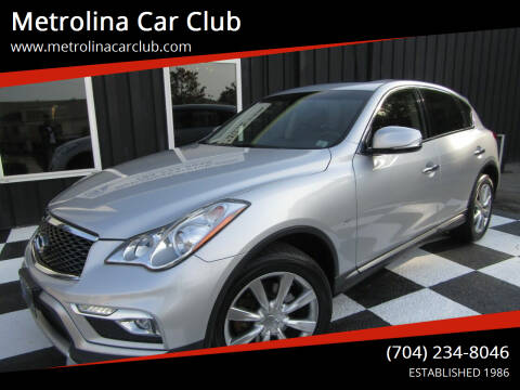 2017 Infiniti QX50 for sale at Metrolina Car Club in Matthews NC