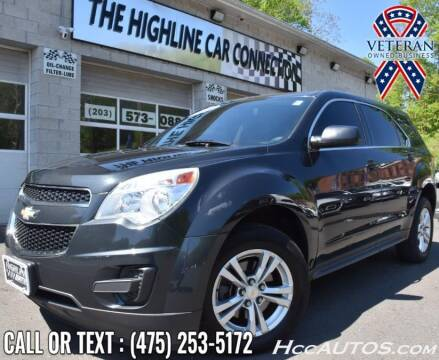 2014 Chevrolet Equinox for sale at The Highline Car Connection in Waterbury CT