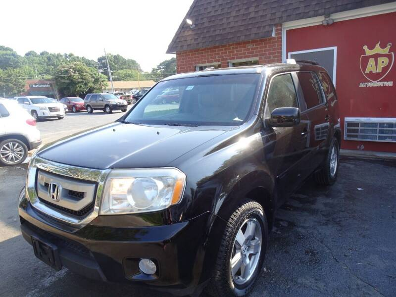2010 Honda Pilot for sale at AP Automotive in Cary NC