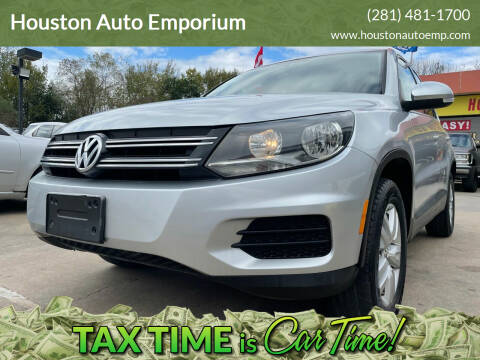 2013 Volkswagen Tiguan for sale at Houston Auto Emporium in Houston TX