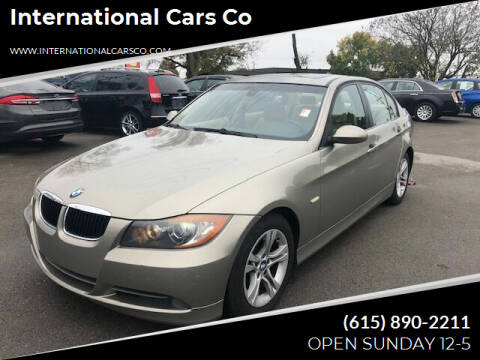 2008 BMW 3 Series for sale at International Cars Co in Murfreesboro TN