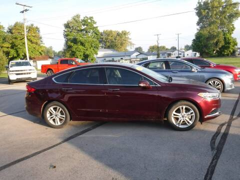 2018 Ford Fusion for sale at Dave's Car Corner in Hartford City IN
