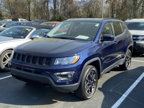 2020 Jeep Compass for sale at Stearns Ford in Burlington NC