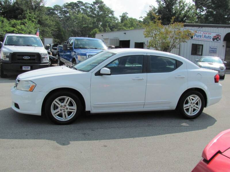 2012 Dodge Avenger for sale at Pure 1 Auto in New Bern NC