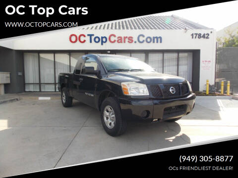 2007 Nissan Titan for sale at OC Top Cars in Irvine CA
