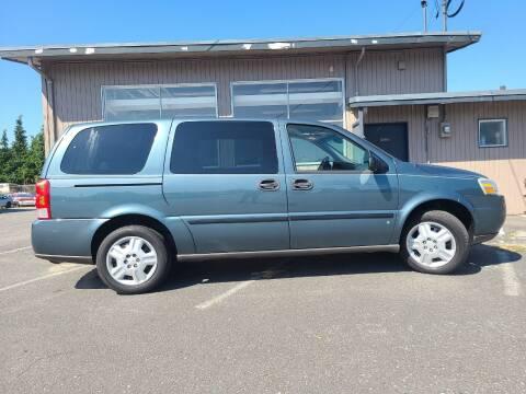 2007 Chevrolet Uplander for sale at Westside Motors in Mount Vernon WA