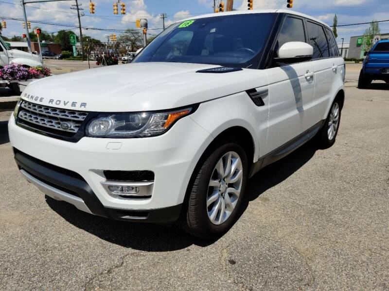 2016 Land Rover Range Rover Sport for sale at Porcelli Auto Sales in West Warwick RI