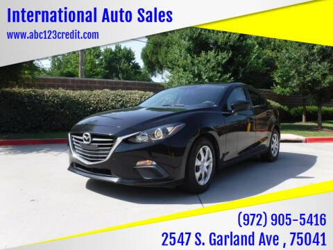 2015 Mazda MAZDA3 for sale at International Auto Sales in Garland TX
