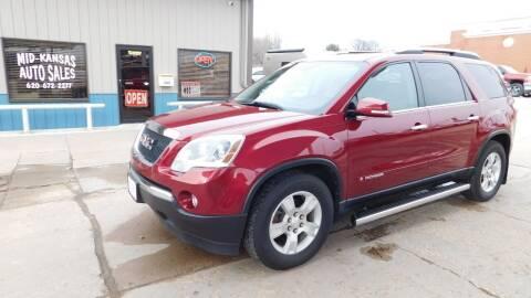 2007 GMC Acadia for sale at Mid Kansas Auto Sales in Pratt KS