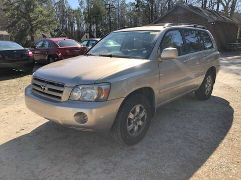 2006 Toyota Highlander for sale at Tri State Auto Brokers LLC in Fuquay Varina NC