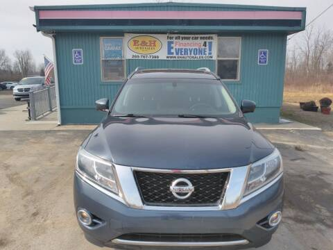 2016 Nissan Pathfinder for sale at E & H Auto Sales in South Haven MI