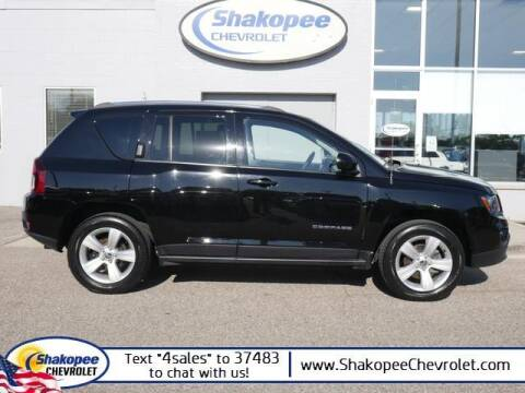2015 Jeep Compass for sale at SHAKOPEE CHEVROLET in Shakopee MN