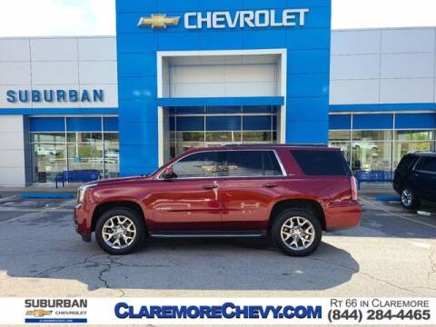 2016 GMC Yukon for sale at Suburban Chevrolet in Claremore OK