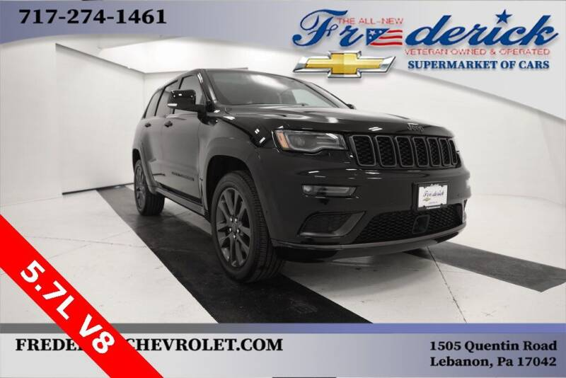 2018 Jeep Grand Cherokee for sale at Lancaster Pre-Owned in Lancaster PA