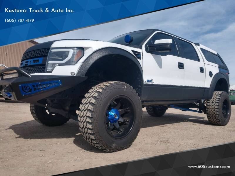 2011 Ford F-150 for sale at Kustomz Truck & Auto Inc. in Rapid City SD