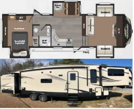 2016 Keystone Montana High Country 375 FL for sale at S & M WHEELESTATE SALES INC - 5th Wheel in Princeton NC
