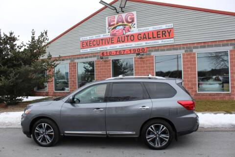 2018 Nissan Pathfinder for sale at EXECUTIVE AUTO GALLERY INC in Walnutport PA