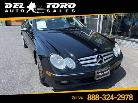 2009 Mercedes-Benz CLK for sale at DEL TORO AUTO SALES in Auburn WA