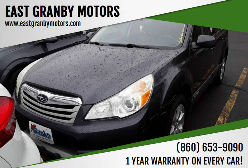 2010 Subaru Outback for sale at EAST GRANBY MOTORS in East Granby CT