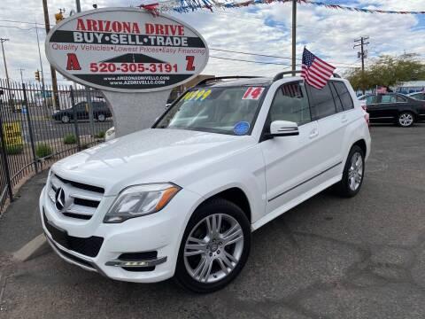 2014 Mercedes-Benz GLK for sale at Arizona Drive LLC in Tucson AZ