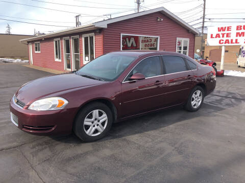2007 Chevrolet Impala for sale at N & J Auto Sales in Warsaw IN