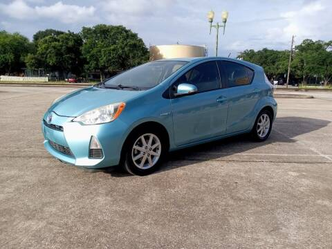 2012 Toyota Prius c for sale at Affordable Auto Spot in Houston TX