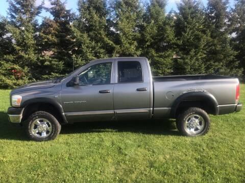 2006 Dodge Ram Pickup 2500 for sale at BLAESER AUTO LLC in Chippewa Falls WI