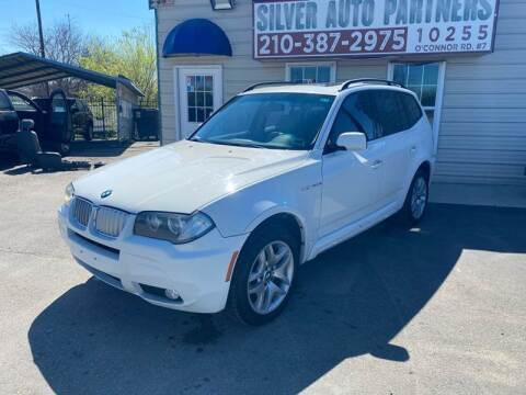 2008 BMW X3 for sale at Silver Auto Partners in San Antonio TX