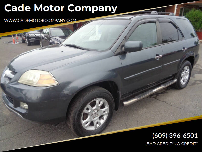 2004 Acura MDX for sale at Cade Motor Company in Lawrence Township NJ