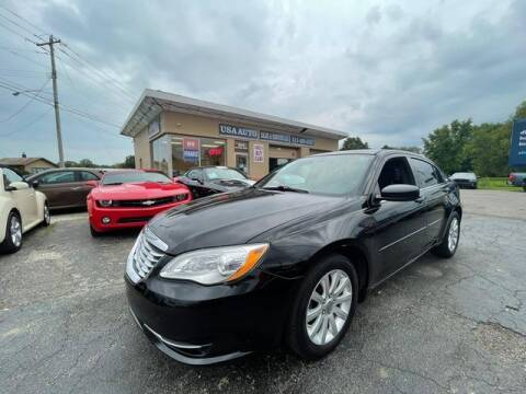 2013 Chrysler 200 for sale at USA Auto Sales & Services, LLC in Mason OH