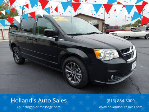 2017 Dodge Grand Caravan for sale at Holland's Auto Sales in Harrisonville MO