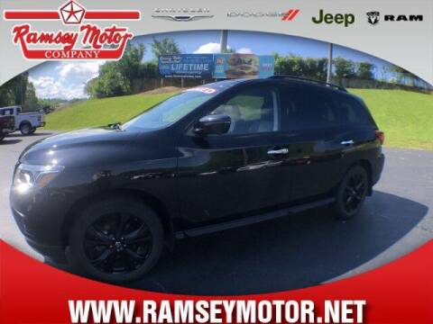 2018 Nissan Pathfinder for sale at RAMSEY MOTOR CO in Harrison AR