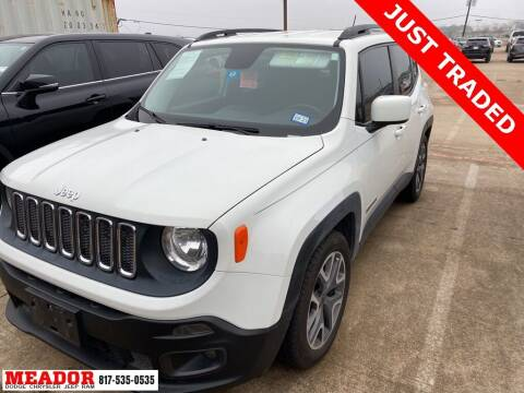 2015 Jeep Renegade for sale at Meador Dodge Chrysler Jeep RAM in Fort Worth TX