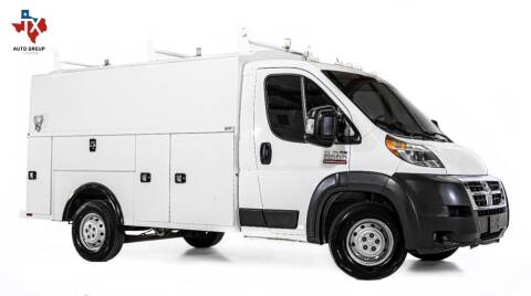 2018 RAM ProMaster Cutaway Chassis for sale at TX Auto Group in Houston TX