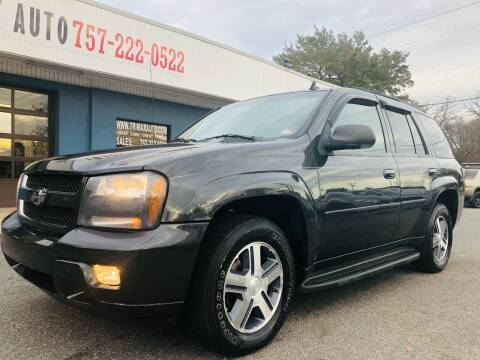2007 Chevrolet TrailBlazer for sale at Trimax Auto Group in Norfolk VA