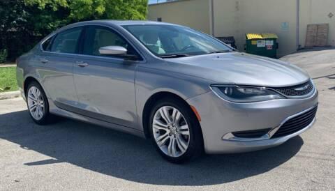 2015 Chrysler 200 for sale at FINE AUTO XCHANGE in Oakland Park FL