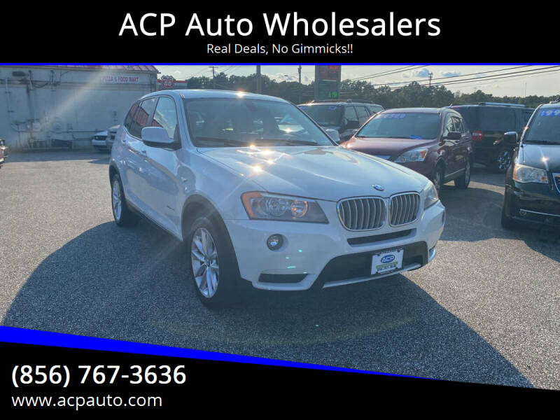2013 BMW X3 for sale at ACP Auto Wholesalers in Berlin NJ