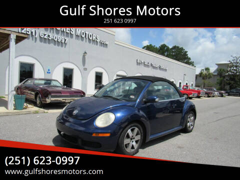 2006 Volkswagen New Beetle Convertible for sale at Gulf Shores Motors in Gulf Shores AL