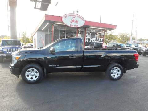 2018 Nissan Titan for sale at The Carriage Company in Lancaster OH