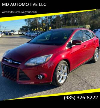 2013 Ford Focus for sale at MD AUTOMOTIVE LLC in Slidell LA