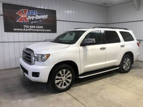 2017 Toyota Sequoia for sale at Karl Pre-Owned in Glidden IA
