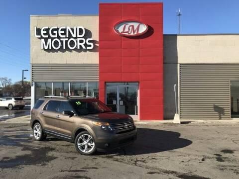 2015 Ford Explorer for sale at Legend Motors of Waterford - Legend Motors of Ferndale in Ferndale MI