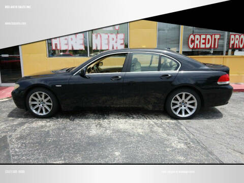 2002 BMW 7 Series for sale at BSS AUTO SALES INC in Eustis FL