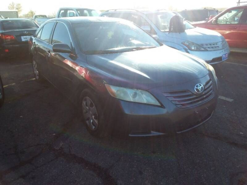 2007 Toyota Camry for sale at Capitol Hill Auto Sales LLC in Denver CO