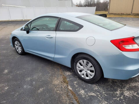 2012 Honda Civic for sale at Bruce Kunesh Auto Sales Inc in Defiance OH