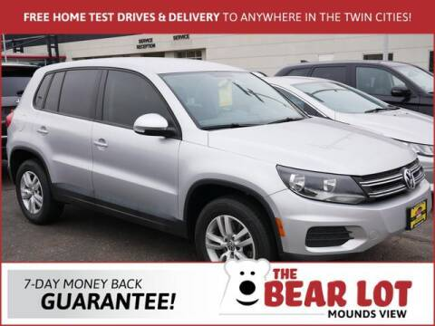 2013 Volkswagen Tiguan for sale at Rydell Auto Outlet in Mounds View MN