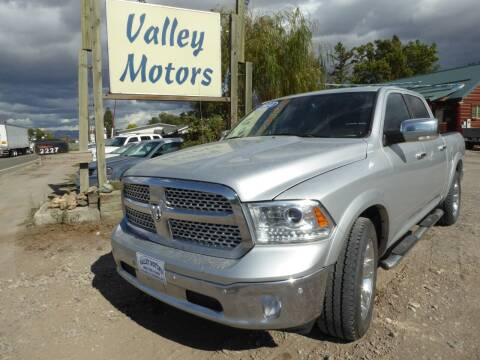 2014 RAM Ram Pickup 1500 for sale at VALLEY MOTORS in Kalispell MT