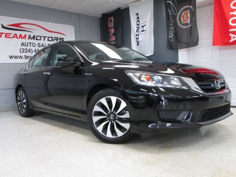 2015 Honda Accord Hybrid for sale at TEAM MOTORS LLC in East Dundee IL